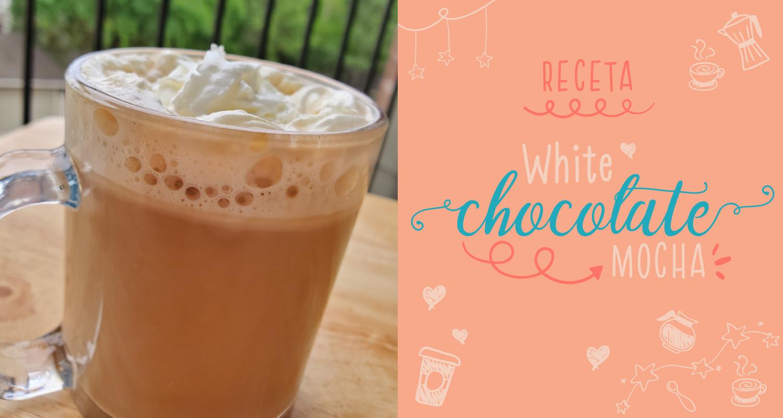 Receta fácil White Chocolate Mocha